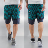 Just Rhyse Zick Shorts  Turquoise
