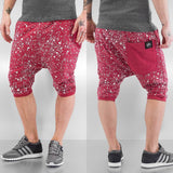 Just Rhyse Rouen Shorts  Red