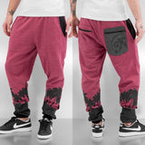 Just Rhyse Palm Beach Sweat Pants  Red