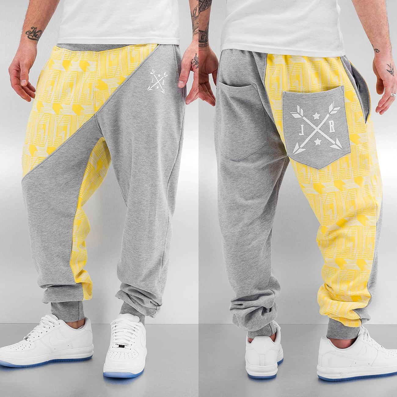 Just Rhyse Anklam Sweat Pants  Grey
