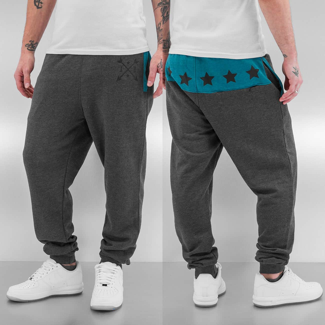 Just Rhyse Yonkers Sweat Pants  Grey