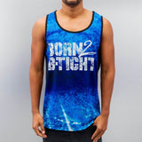 Dangerous DNGRS Born 2 B-Tight Tank Top  Black