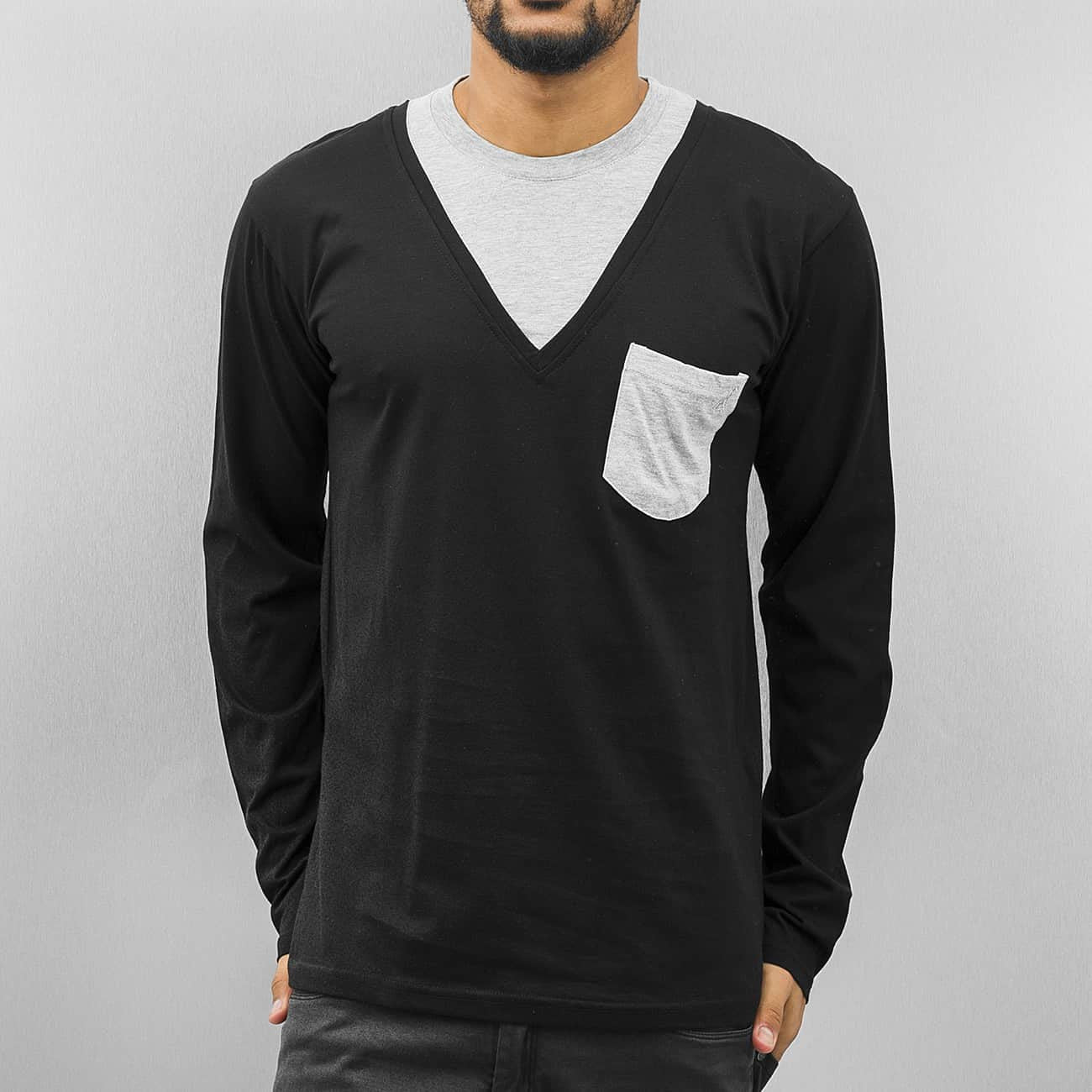 Cazzy Clang Breast Pocket Longsleeve  Black