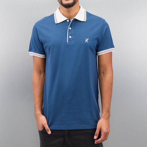 Cazzy Clang Damp Polo Shirt  Blue