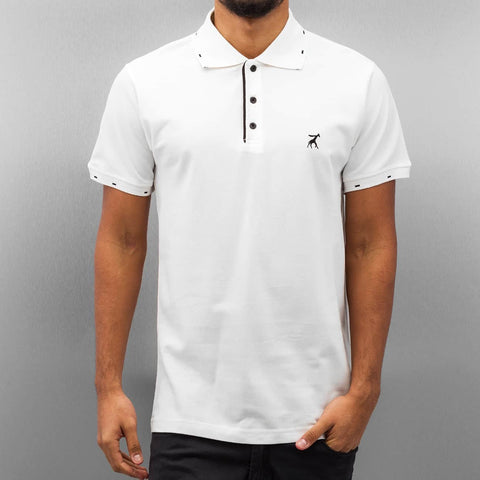 Cazzy Clang Damp III Polo Shirt  White