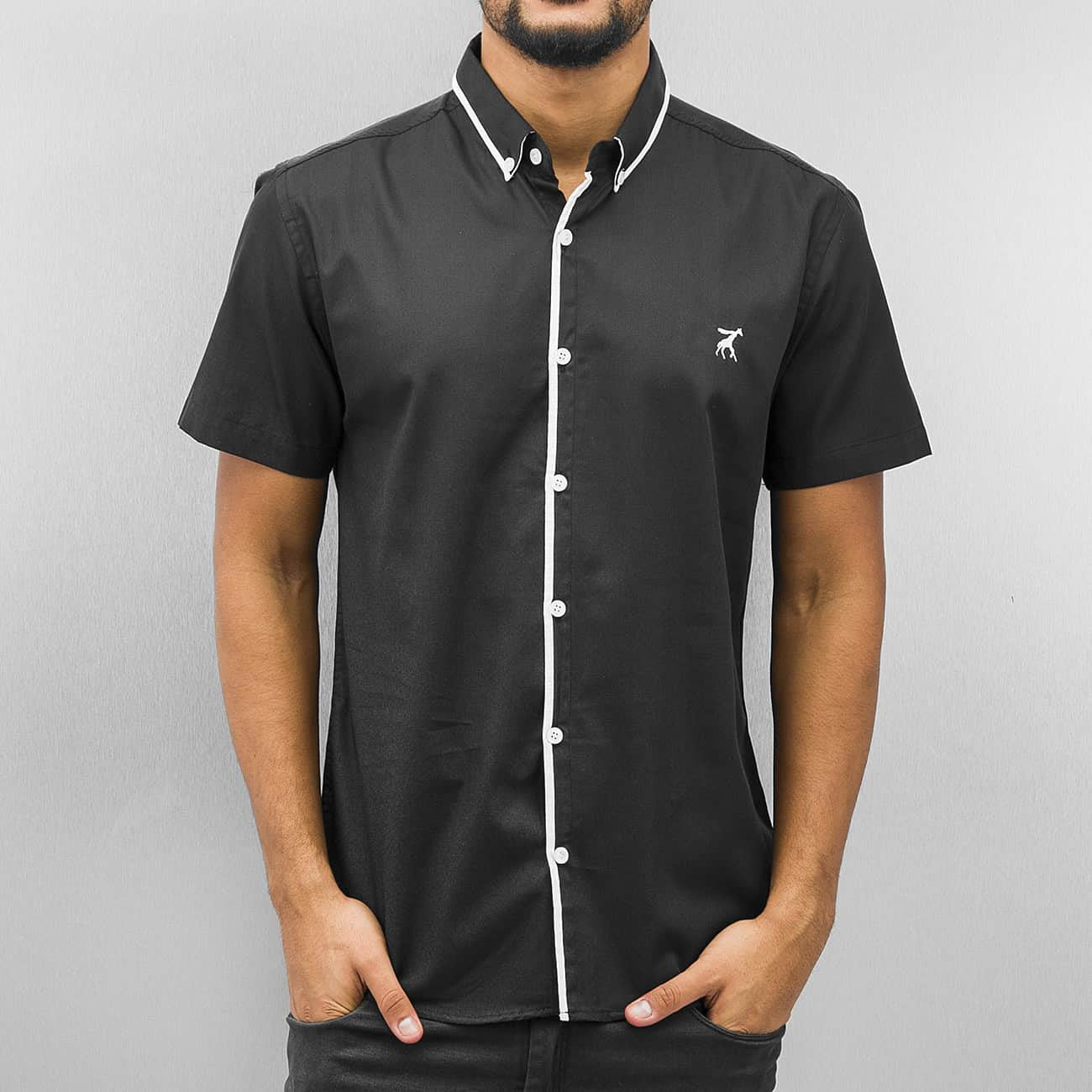 Cazzy Clang Short Sleeves Shirt  Black