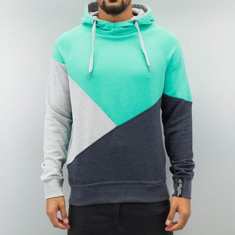 Just Rhyse 3 Tone Hoody  Turquoise