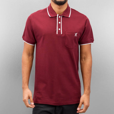 Cazzy Clang Damp II Polo Shirt  Red