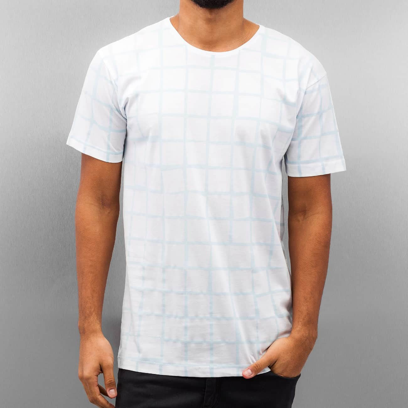 Cazzy Clang Checked III T-Shirt  White