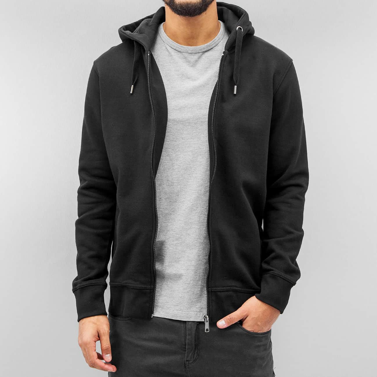 Cyprime Basic Zip Hoody  Black