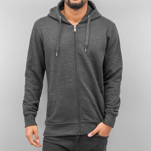 Cyprime Basic Zip Hoody  Grey