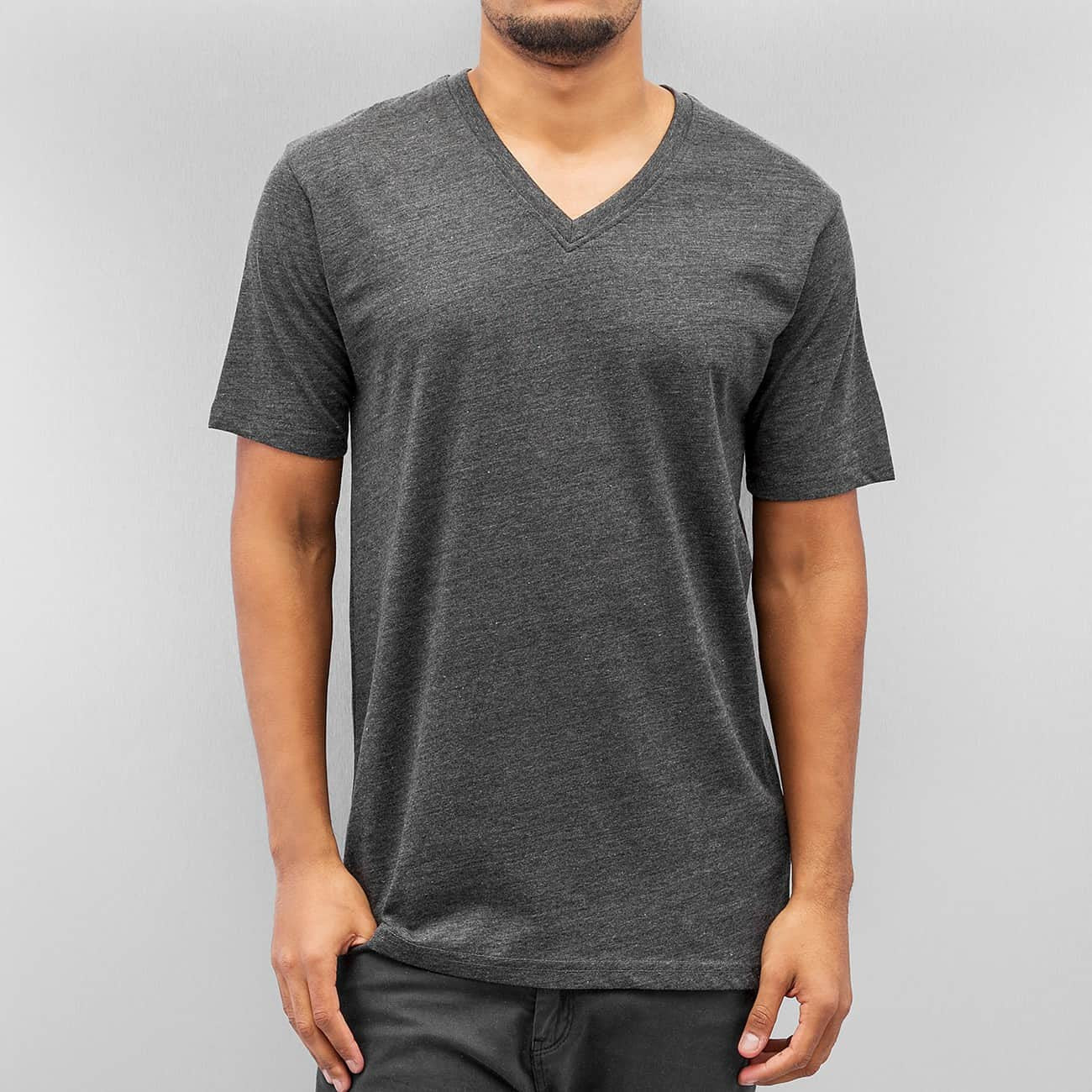 Cyprime V-Neck T-Shirt  Grey