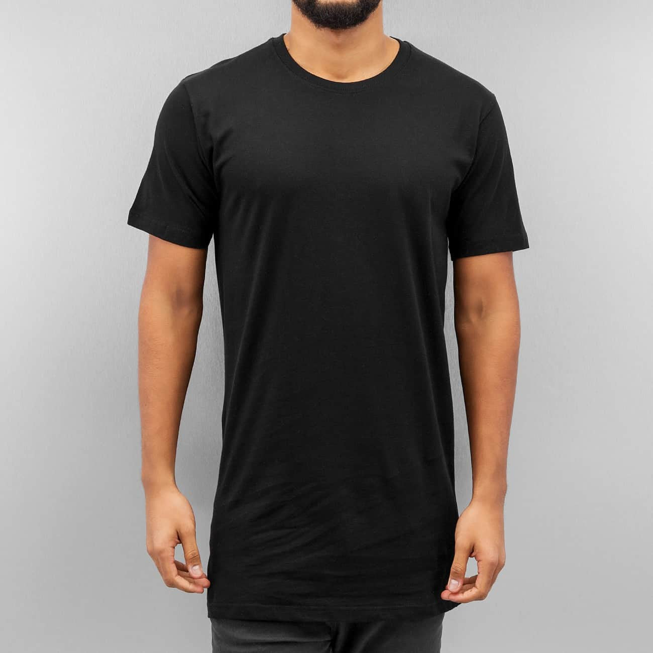 Cyprime Long Basic T-Shirt  Black