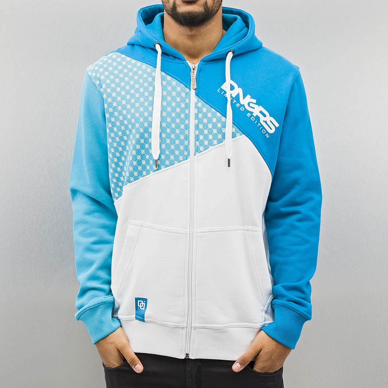 Dangerous DNGRS Limited Edition Zip Hoody  Blue