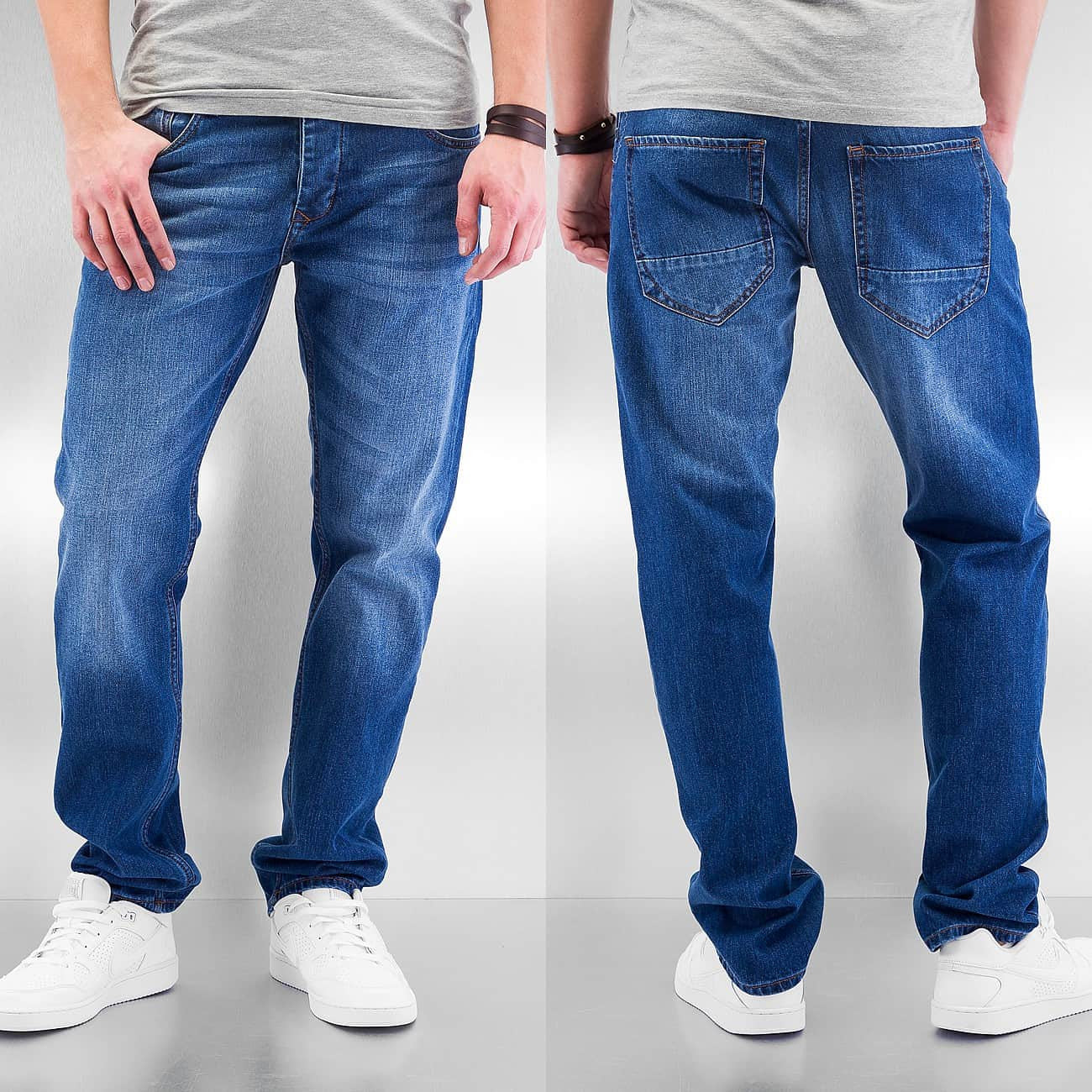 Cyprime Arek Straight Fit Jeans  Blue