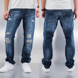 Just Rhyse Joona Straight Fit Jeans  Blue