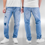 Just Rhyse Chuck Straight Fit Jeans  Blue