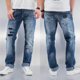 Just Rhyse Sjard Straight Fit Jeans  Blue