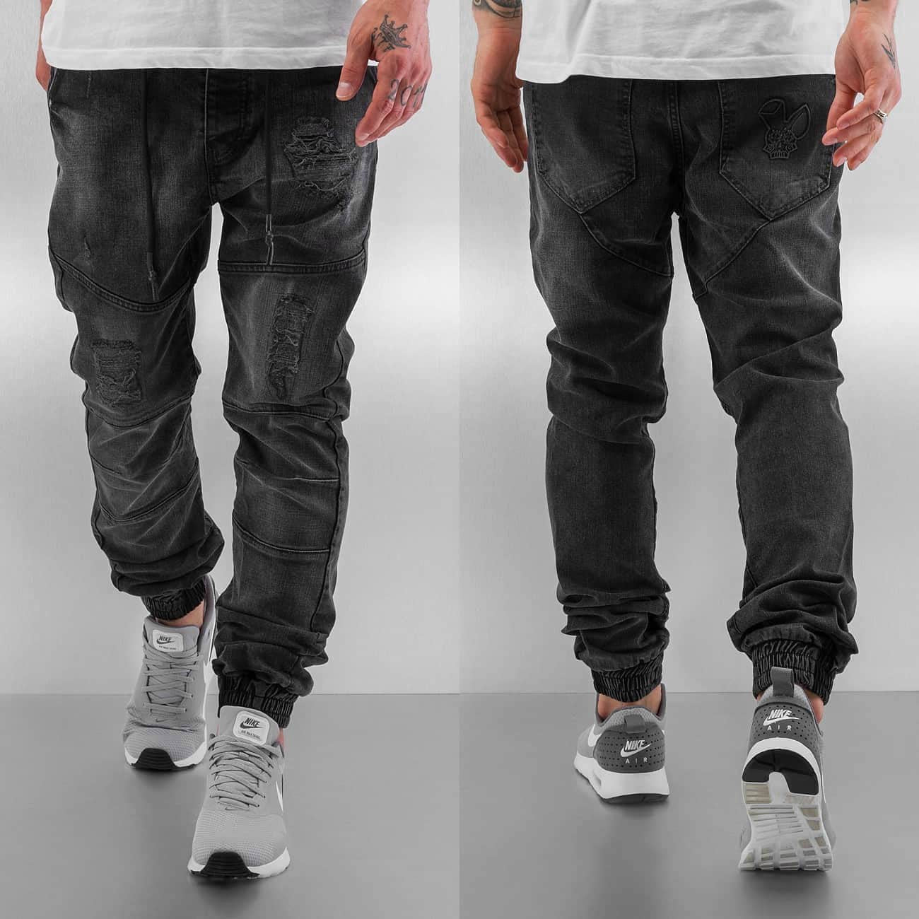 Who Shot Ya? Antifit Jeans Grey Grey