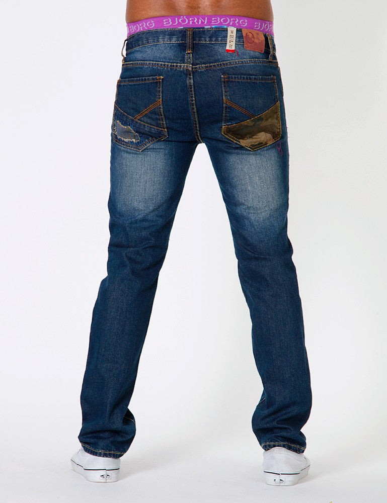 DJ-6100 Jeans Dark Blue