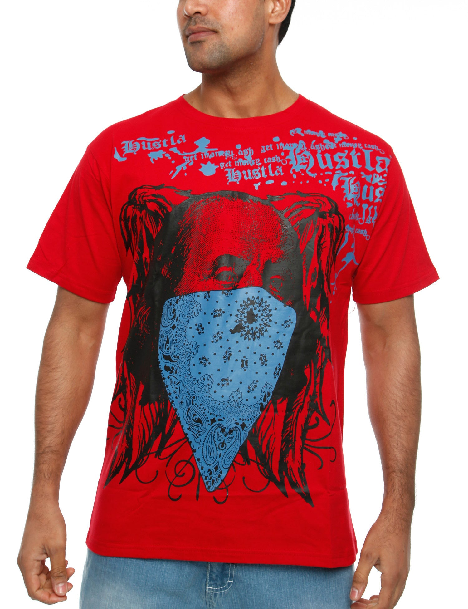 Townz Hustla T-Shirt RWT-112F Red