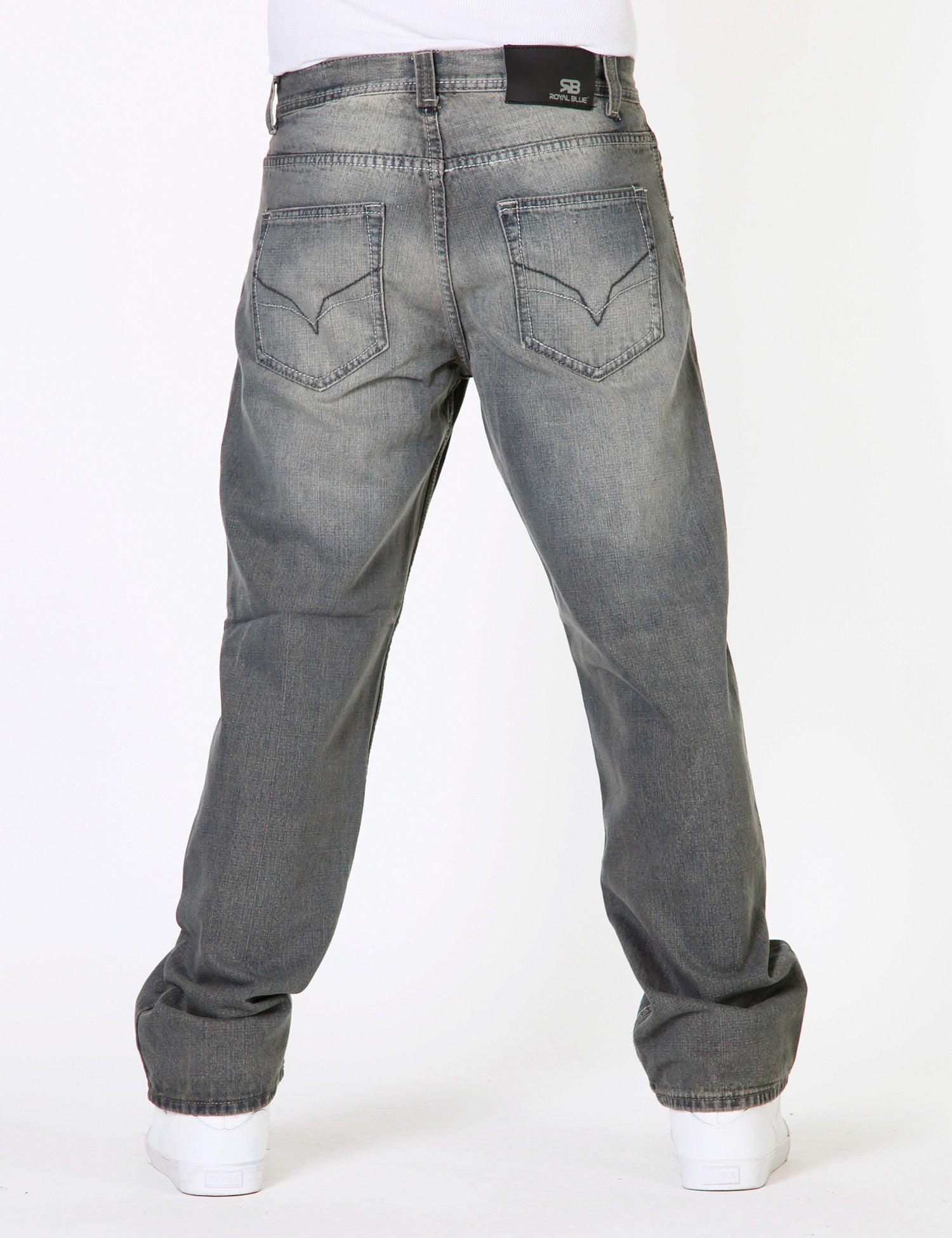 8117 Jeans Grey