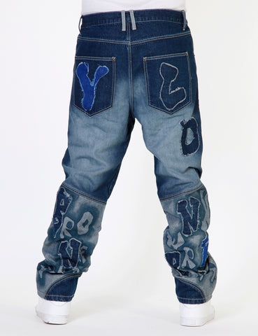 YLD Denim YLD-2601 Dark Blue