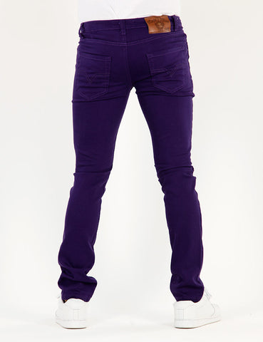 Basic Skinny AJ-6001 Purple
