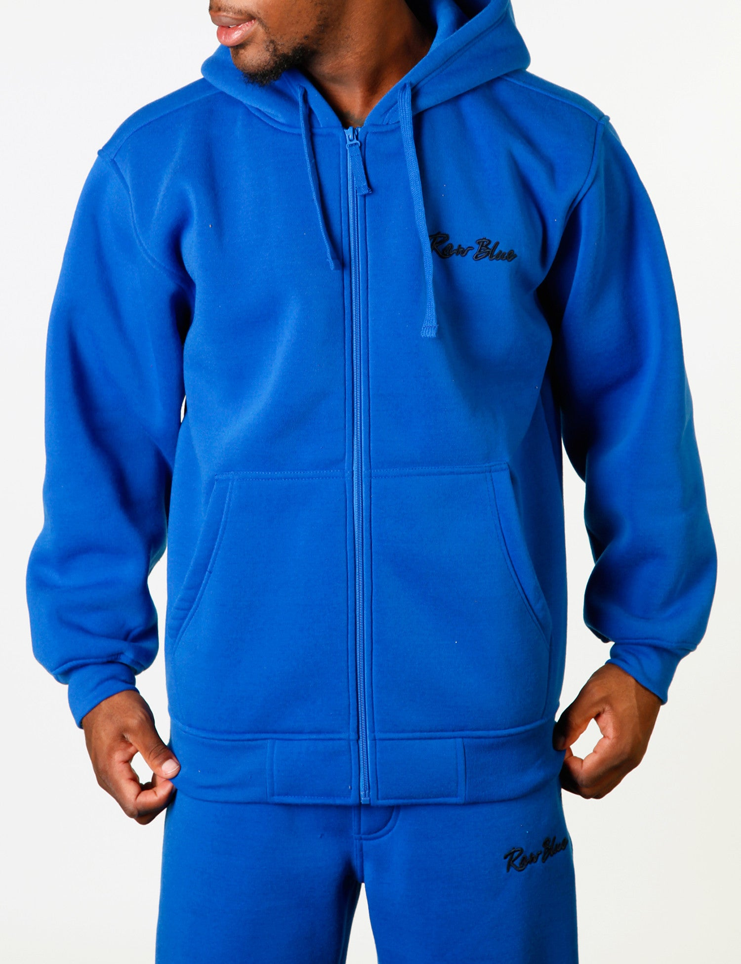 Signature Zip Hoody EF-4572 Blue