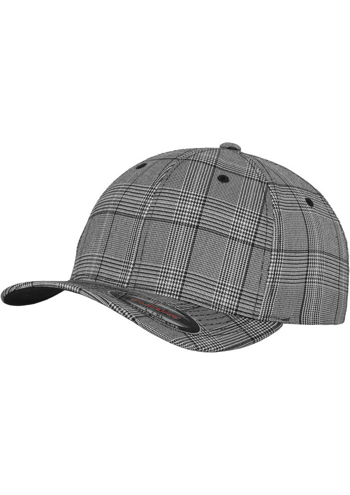Flexfit Glen Check Cap 6196 Black