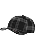 Flexfit Tartan Plaid Cap 6197 Black