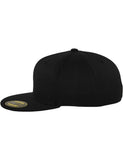 PREMIUM 210 FITTED CAPS Black