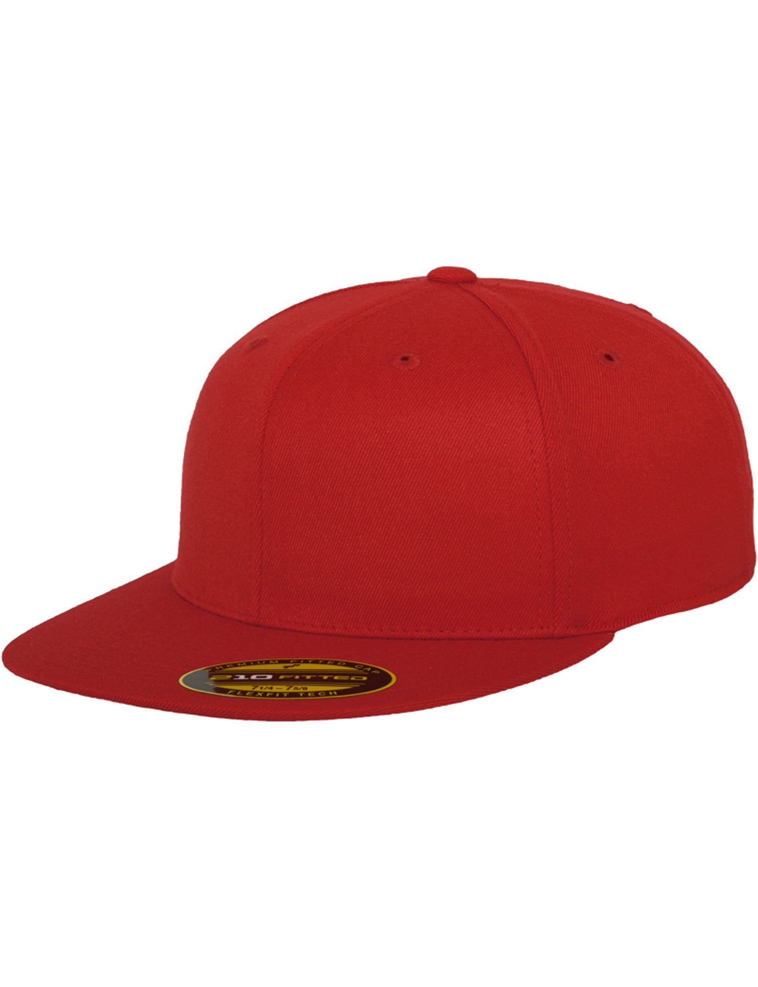 PREMIUM 210 FITTED CAPS Red
