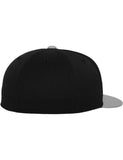 PREMIUM 210 FITTED 2-TONE CAPS Black