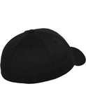 FLEXFIT WOOLY COMBED CAPS Black