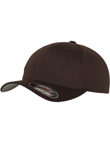 FLEXFIT WOOLY COMBED CAPS Brown