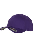 Flexfit Wooly Combed Cap 6277 Purple