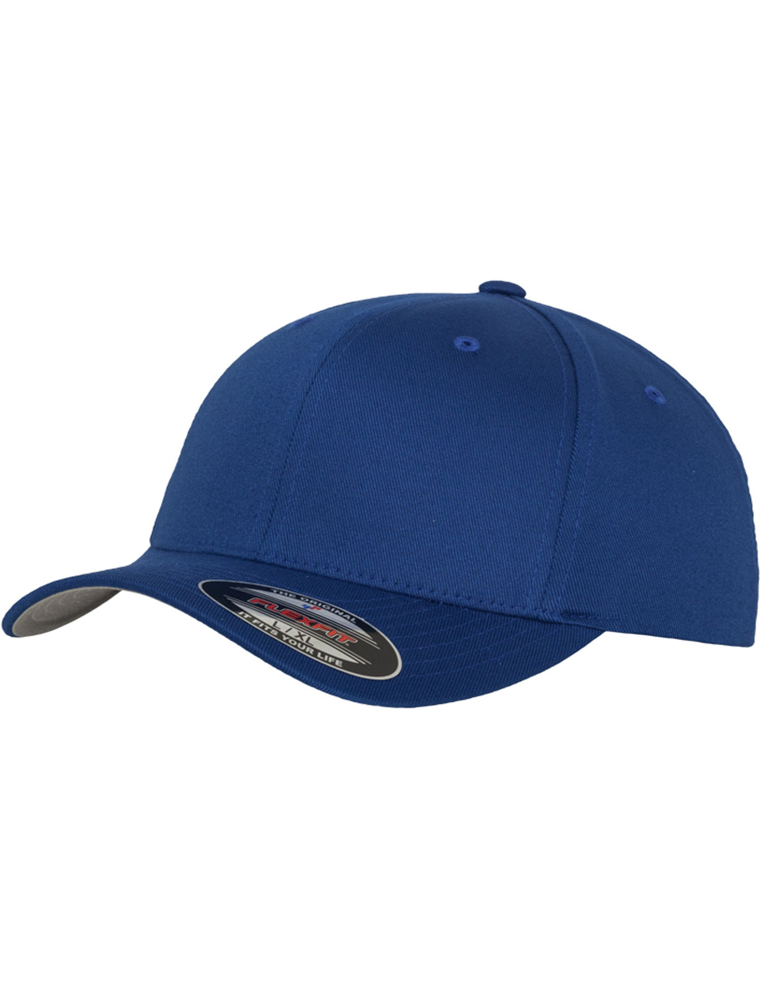 FLEXFIT WOOLY COMBED CAPS Blue