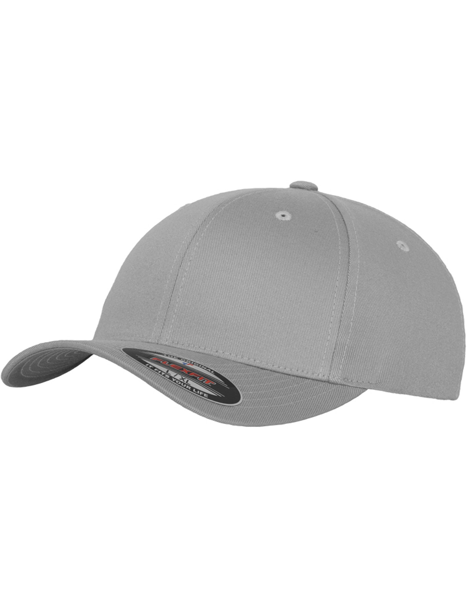 FLEXFIT WOOLY COMBED CAPS Silver