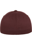 Flexfit Wooly Combed Cap Maroon 6277 Brown