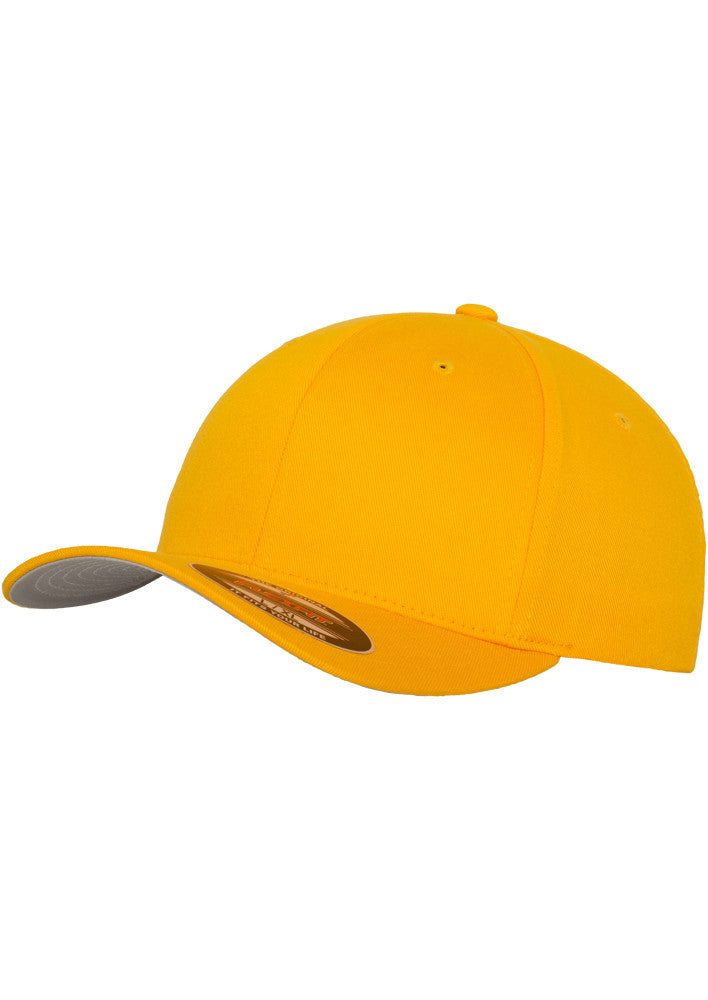 Flexfit Wooly Combed Cap 6277 Gold