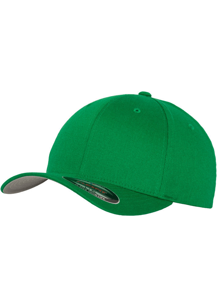 Flexfit Wooly Combed Cap 6277 Green