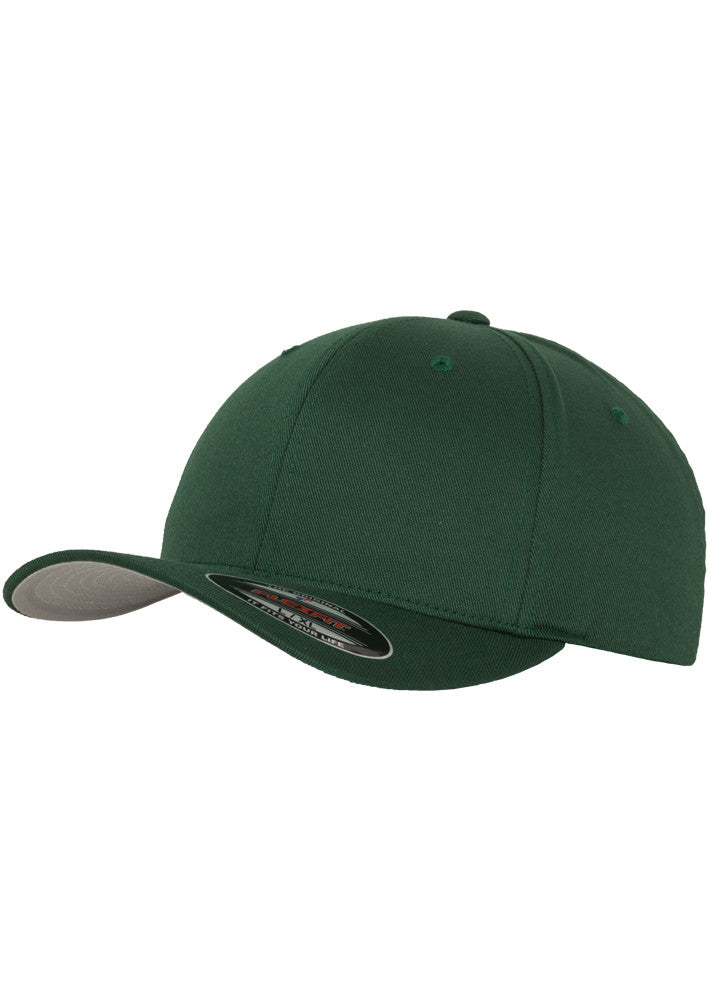 Flexfit Wooly Combed Cap Spruce 6277 Green