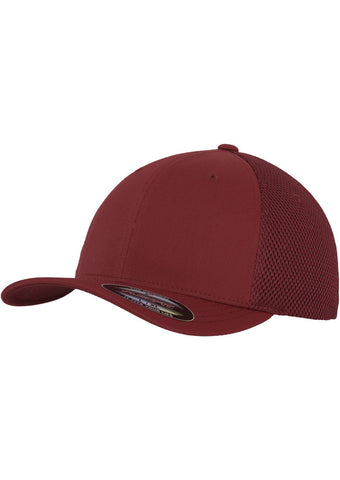 Flexfit Tactel Mesh Cap Maroon 6533 Brown