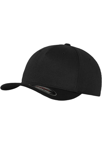 Flexfit 5 Panel Cap 6560 Black