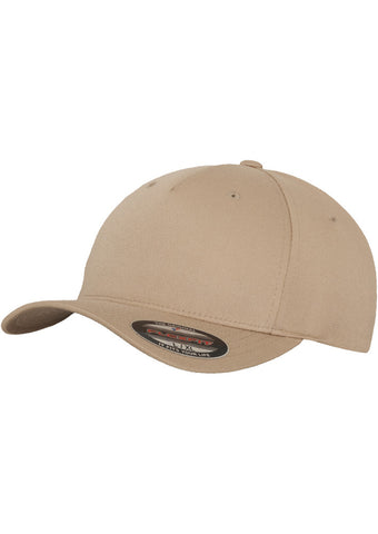 Flexfit 5 Panel Cap Khaki 6560 Beige