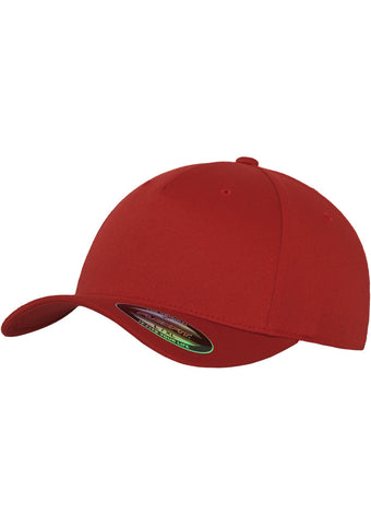 Flexfit 5 Panel Cap 6560 Red