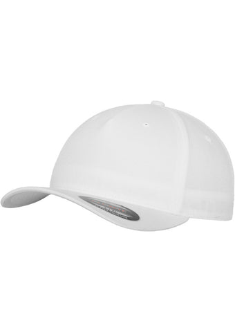 Flexfit 5 Panel Cap 6560 White