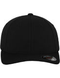 FLEXFIT DOUBLE JERSEY CAPS Black