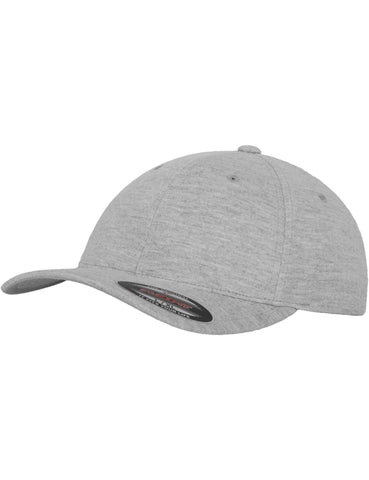 FLEXFIT DOUBLE JERSEY CAPS Grey
